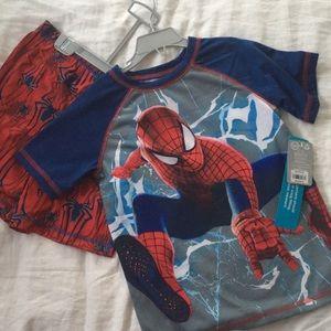 Spider Man pjs sz 5-6